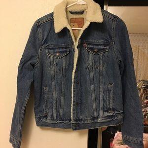 Levi's Sherpa denim jacket